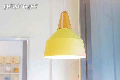 Lamp Yellow Pastel - gettyimageskorea