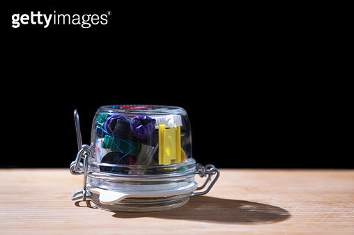 Valuable materials, not to be thrown away, but to be preserved. Could also symbolize the plastic waste in our food. - gettyimageskorea