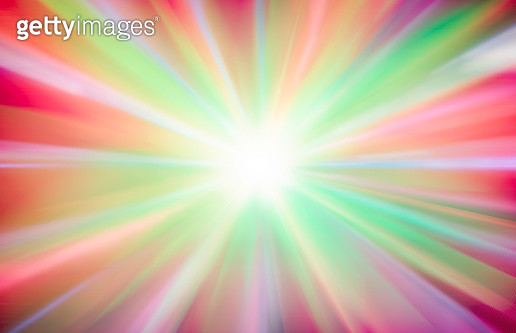 Abstract Big Data, Fiber Optic Light Painting - gettyimageskorea