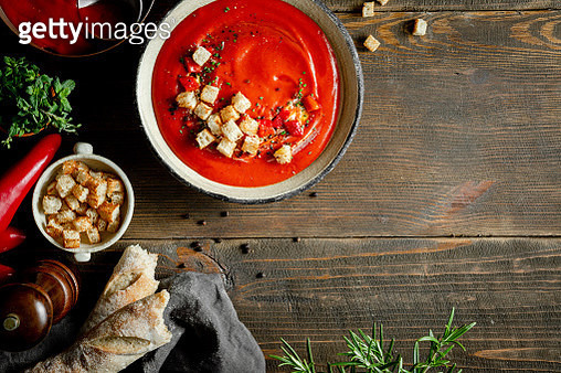 Red pepper soup - gettyimageskorea