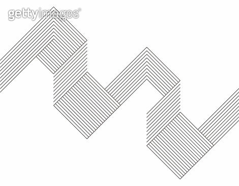 Minimalism geometric line pattern background - gettyimageskorea