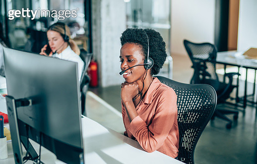 Answering your call with a smile - gettyimageskorea
