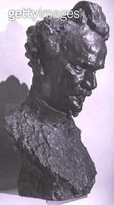 <b>Title</b> : Portrait bust of Henri Rochefort (1830-1913) journalist and founder of the newspaper 'L'Intransigeant' (bronze)<br><b>Medium</b> : bronze<br><b>Location</b> : Musee d'Art et d'Histoire, Geneva, Switzerland<br> - gettyimageskorea