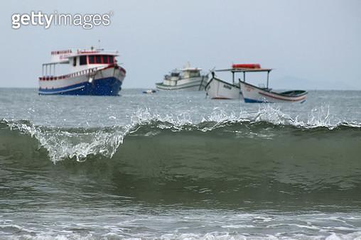 Barcos no mar - gettyimageskorea