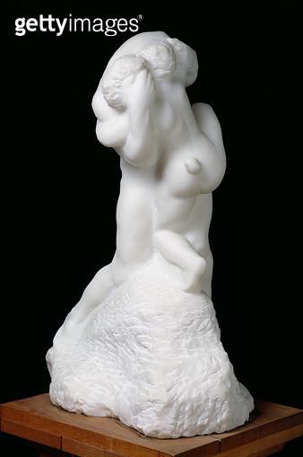 <b>Title</b> : The Sin, c.1900 (marble)<br><b>Medium</b> : marble<br><b>Location</b> : Musee Rodin, Paris, France<br> - gettyimageskorea