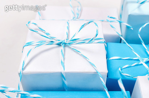 Close-Up Of Gifts On Table - gettyimageskorea