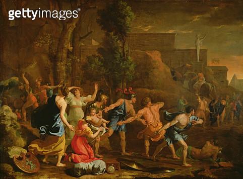 <b>Title</b> : The Saving of the Infant Pyrrhus, 1634 (oil on canvas)<br><b>Medium</b> : oil on canvas<br><b>Location</b> : Louvre, Paris, France<br> - gettyimageskorea