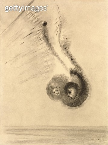<b>Title</b> : The Sciapods (charcoal)Additional Infoman possessing so large a foot that he can use it as a sunshade;<br><b>Medium</b> : charcoal<br><b>Location</b> : Private Collection<br> - gettyimageskorea