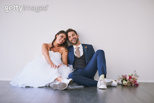 Meet the new Mr and Mrs - gettyimageskorea