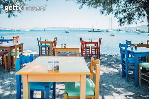 greek tavern in greek island,Greece - gettyimageskorea