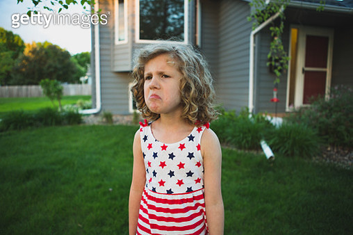 Mad Little Girl - gettyimageskorea