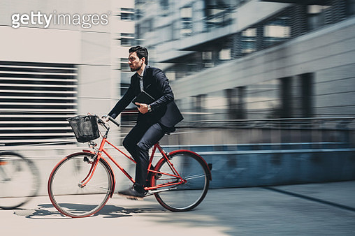 On the way to work - gettyimageskorea