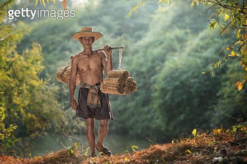 Farmer at work - gettyimageskorea