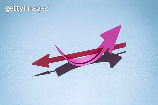 Paper arrows - gettyimageskorea