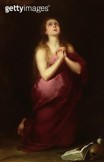 <b>Title</b> : Mary Magdalene, 1650-55 (oil on canvas)<br><b>Medium</b> : oil on canvas<br><b>Location</b> : San Diego Museum of Art, USA<br> - gettyimageskorea