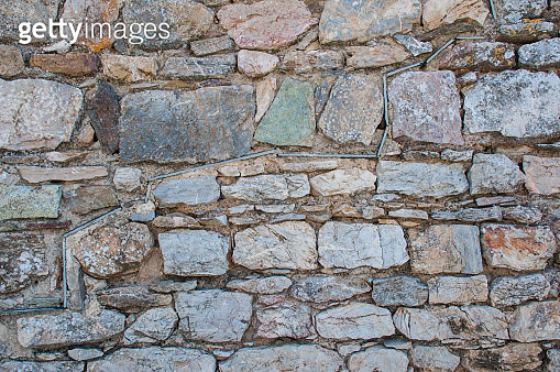 Stone Wall Background - gettyimageskorea