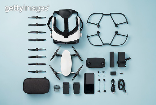 Drone knolling style - gettyimageskorea