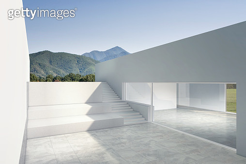 The design is made with 3D technology. The place does not exist. - gettyimageskorea