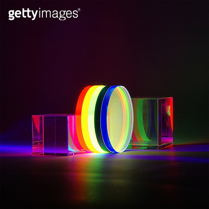 Color image using acrylic disc - gettyimageskorea