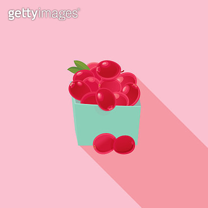 Cranberry icon - gettyimageskorea