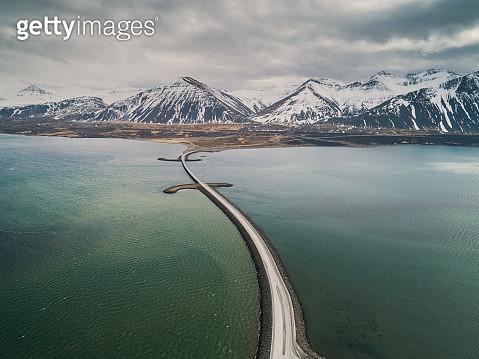 Borgarbyggð bridge, Iceland - gettyimageskorea