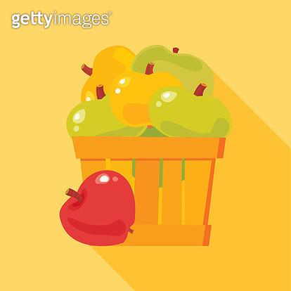 Apples. Harvest time. - gettyimageskorea