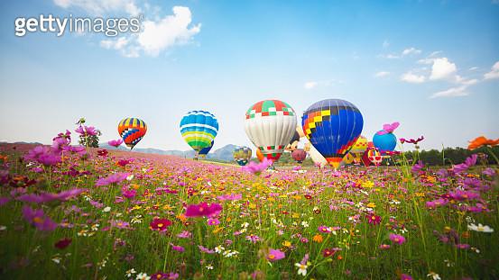 Hot air balloon - gettyimageskorea