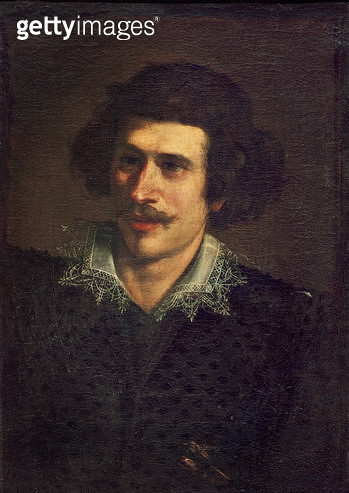 <b>Title</b> : Self Portrait, or Portrait of a Young Man (oil on canvas)<br><b>Medium</b> : oil on canvas<br><b>Location</b> : Galleria degli Uffizi, Florence, Italy<br> - gettyimageskorea
