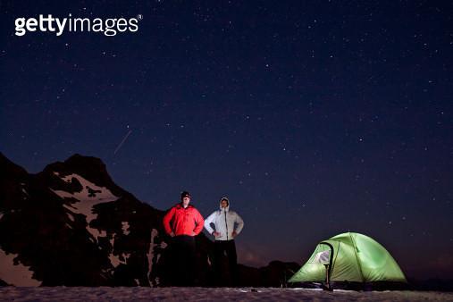 Illuminated tent - gettyimageskorea