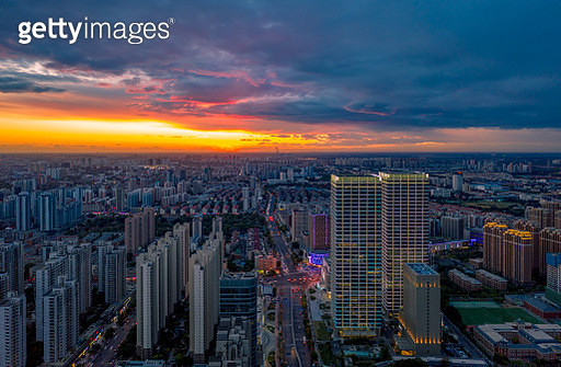 Cityscape, aerial view - gettyimageskorea
