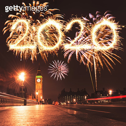 new year 2020 in london - gettyimageskorea