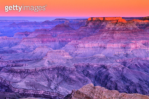 View from the south rim of the Grand Canyon in Arizona - gettyimageskorea