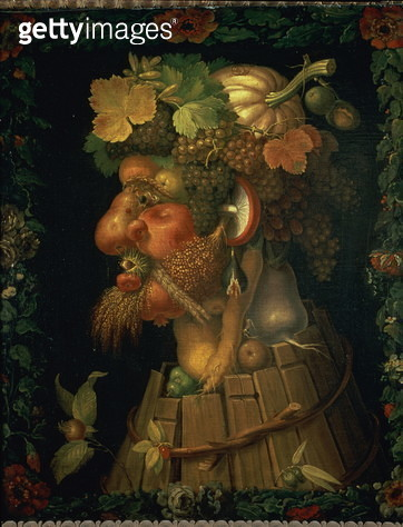 Autumn, from a series depicting the four seasons, commissioned by Emperor Maximilian II (1527-76) 1573 (oil on canvas) - gettyimageskorea