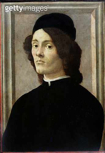 <b>Title</b> : Portrait of a Man (oil on panel)<br><b>Medium</b> : oil on panel<br><b>Location</b> : Louvre, Paris, France<br> - gettyimageskorea