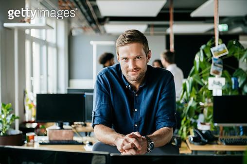 Portrait Of Modern Office Worker - gettyimageskorea