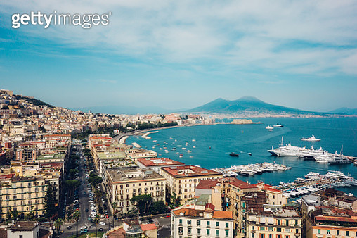 Naples view, Italy - gettyimageskorea