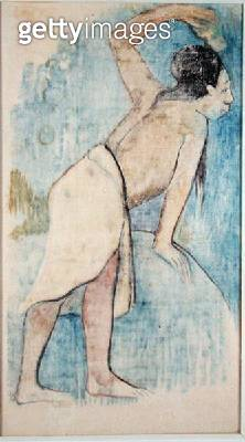 <b>Title</b> : Tahitian, 1893 (monotype)<br><b>Medium</b> : monotype<br><b>Location</b> : Musee Marmottan, Paris, France<br> - gettyimageskorea