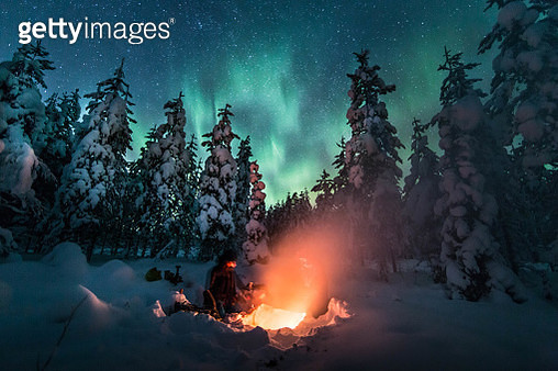 Merry Christmas from Swedish Lapland! - gettyimageskorea