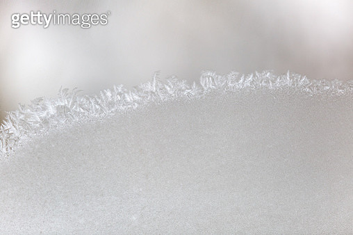 Close-Up Of Snowflakes On Glass - gettyimageskorea