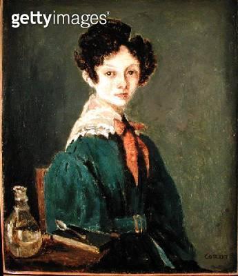 <b>Title</b> : Mme Lemaistre (oil on canvas)<br><b>Medium</b> : oil on canvas<br><b>Location</b> : The Barnes Foundation, Merion, Pennsylvania, USA<br> - gettyimageskorea