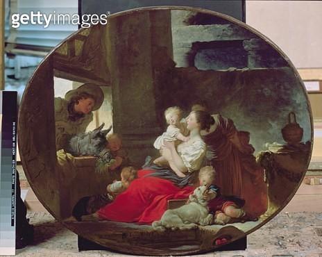 <b>Title</b> : Happy Fecundity, 1773-76 (oil on canvas)<br><b>Medium</b> : oil on canvas<br><b>Location</b> : Tokyo Fuji Art Museum, Tokyo, Japan<br> - gettyimageskorea