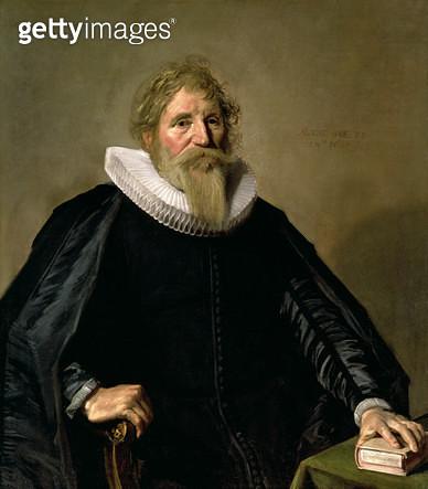 <b>Title</b> : Portrait of a Man, 1633 (oil on canvas)<br><b>Medium</b> : oil on canvas<br><b>Location</b> : Tokyo Fuji Art Museum, Tokyo, Japan<br> - gettyimageskorea