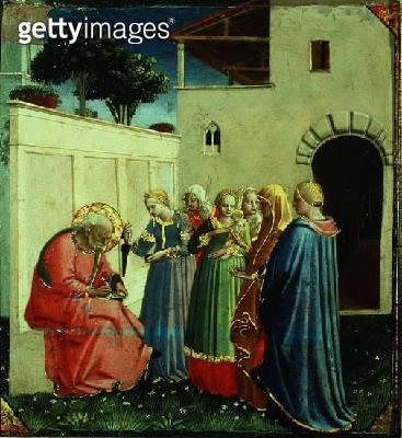 <b>Title</b> : The Naming of John the Baptist, c.1430's (tempera on panel)<br><b>Medium</b> : <br><b>Location</b> : Museo di San Marco dell'Angelico, Florence, Italy<br> - gettyimageskorea
