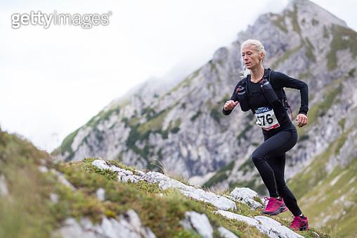 Woman running - gettyimageskorea