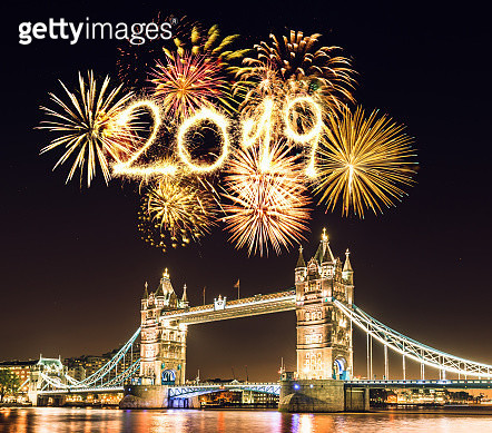 new year 2019 in london - gettyimageskorea
