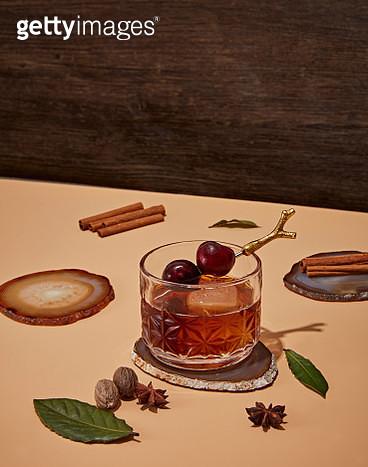 Spiced Seasonal Cocktail Ingrediants - gettyimageskorea