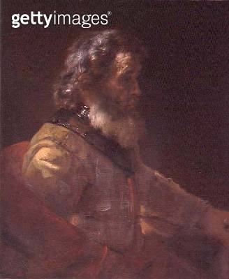 <b>Title</b> : An Old Warrior (oil on canvas)Additional Infofalse signature removed in 1967;<br><b>Medium</b> : oil on canvas<br><b>Location</b> : The Barber Institute of Fine Arts, University of Birmingham<br> - gettyimageskorea