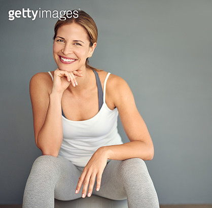 I just love how yoga makes me feel - gettyimageskorea