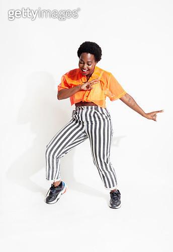 Woman dancing - gettyimageskorea
