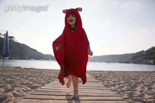Laughter on beach - gettyimageskorea